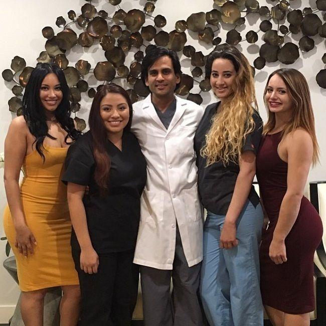 DR Sejal M Patel- with his team