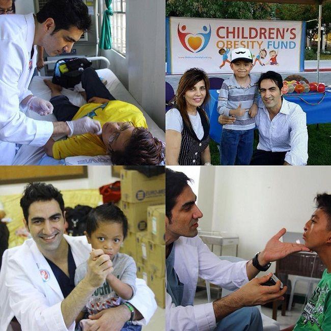 DR Michael Omidi Charities