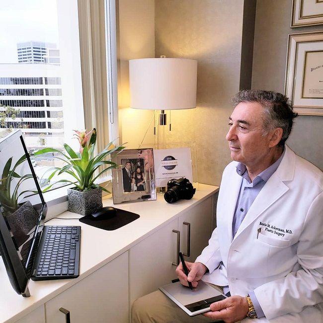 Dr Boris M Ackerman-Virtual Consultation