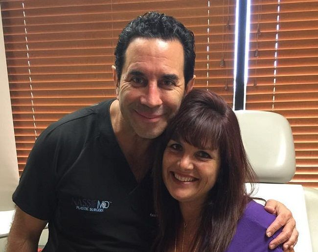 Dr Paul Nassif with Patients
