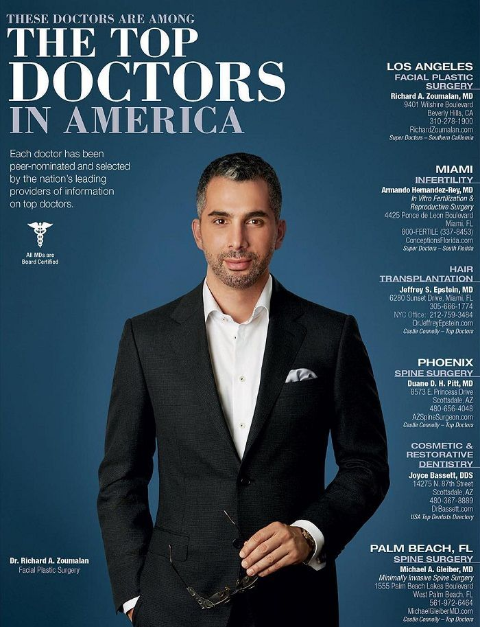 Dr. Richard Zoumalan in American Way Magazine